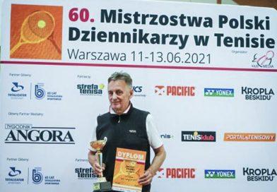 Wicemistrz Polski w tenisie ziemnym z Zamościa