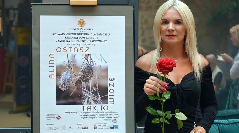 Tak to widzę – wernisaż wystawy Aliny Ostasz