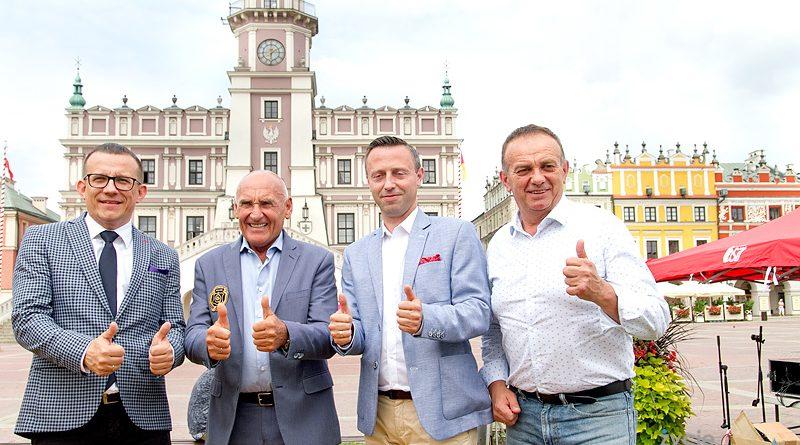 Tour de Pologne z Zamościa  do Przemyśla – konferencja prasowa