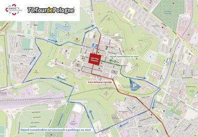 Utrudnienia w związku z organizacją Tour de Pologne w Zamościu