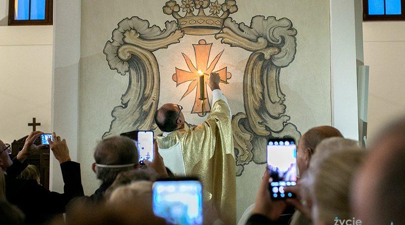 Poświęcenie ołtarza i kościoła pw. Zwiastowania Najświętszej Maryi Pannie