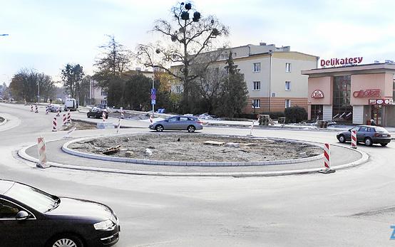 Na zamojskich drogach mniej skrzyżowań